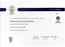Certificado CBF